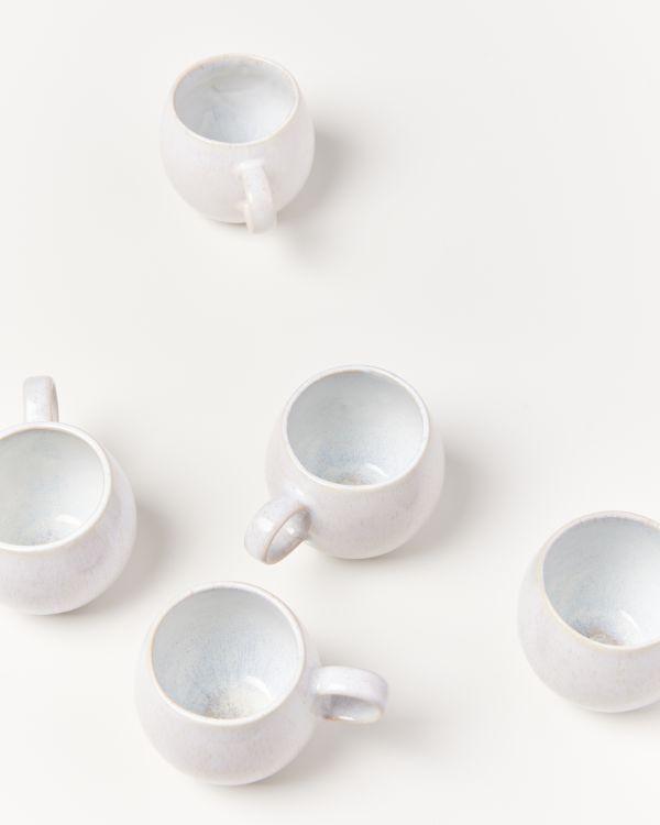 Areia Tasse groß weiß 2