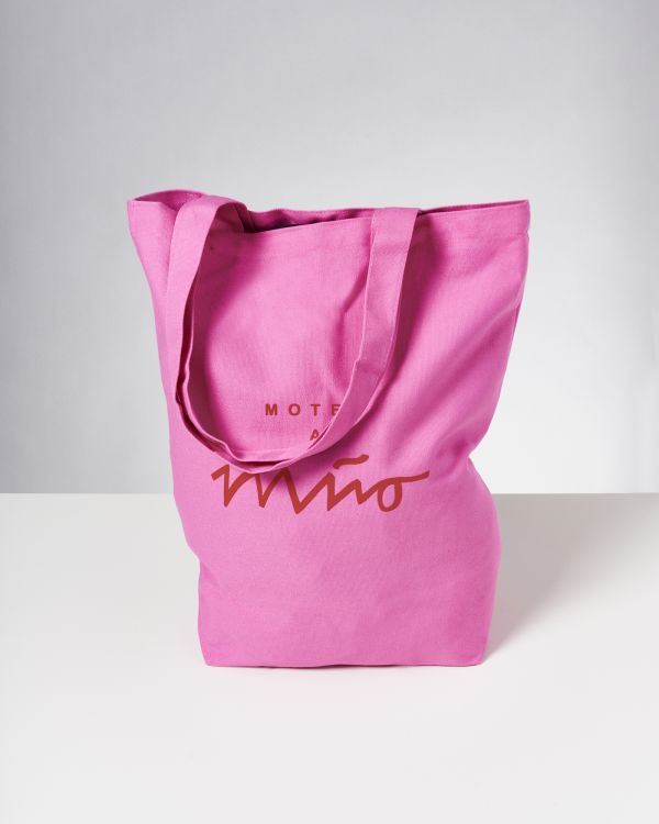 Beach Bag pink rot 2