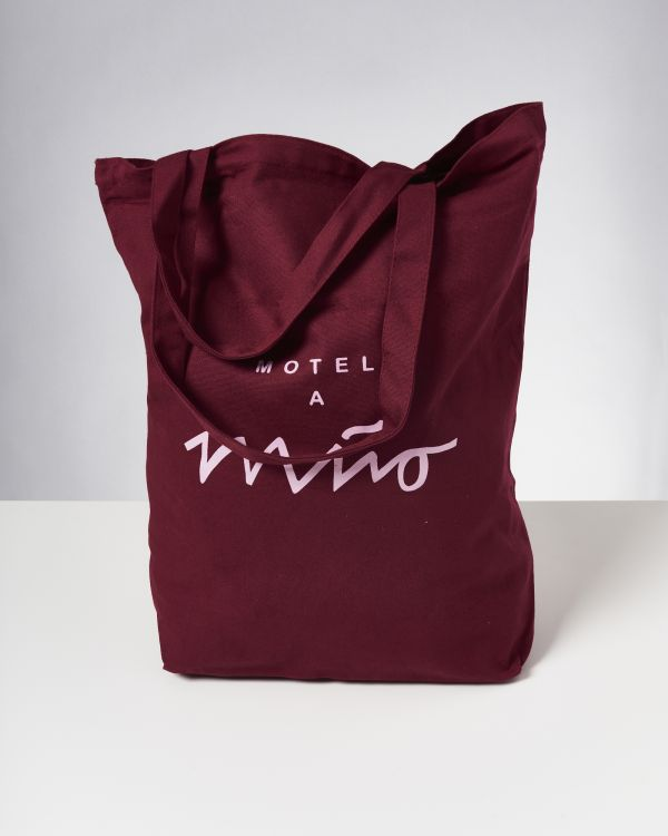 Beach Bag XL bordeaux 2