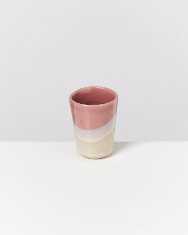 Bica 6er Set Espressobecher pink cream 2