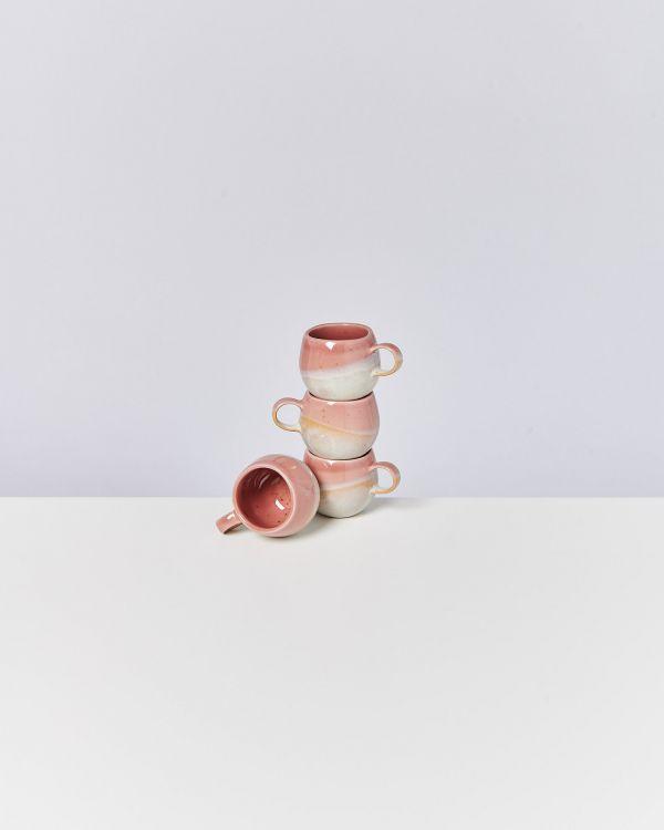 Bica Espressotasse pink cream 2