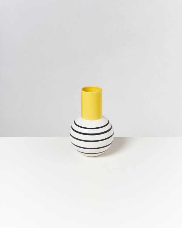 Bola M - yellow black striped 2