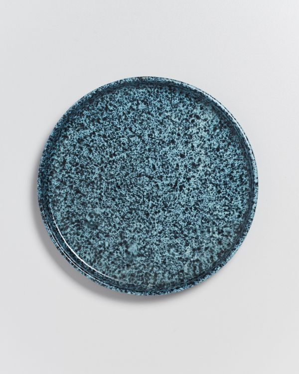Caparica Teller klein grün schwarz 2