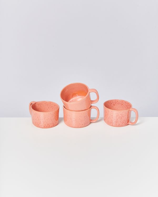 Copo 4er Set Tasse orange 2