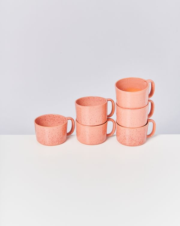 Copo 6er Set Tasse orange 2
