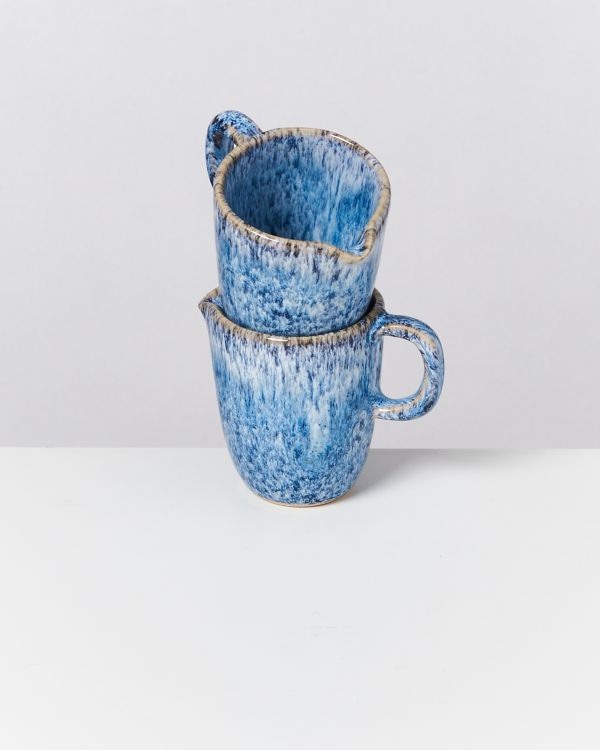 CORDOAMA - Milk Jug blue speckled 2