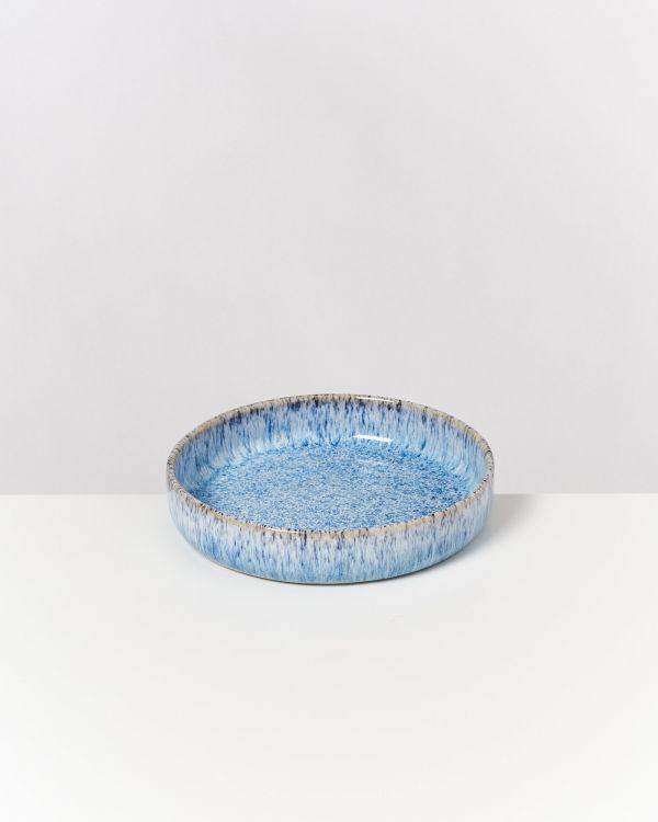 Cordoama Miniteller tief blau gesprenkelt 2