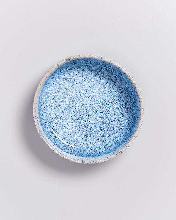 Cordoama Müslischale blau gesprenkelt 2