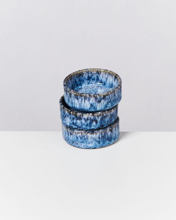 Cordoama Saucenschälchen blau gesprenkelt 2