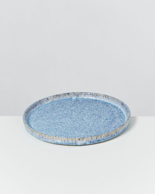 Cordoama – Plate small blue speckled 2