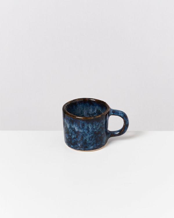 Cordoama 4er Set Espressotasse dunkelblau 2