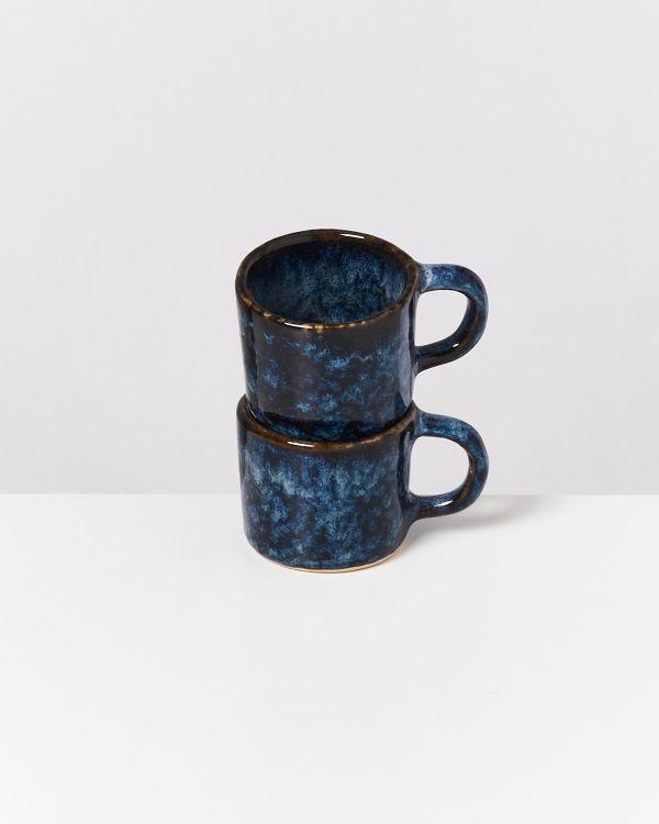 Cordoama Espressotasse dunkelblau 2