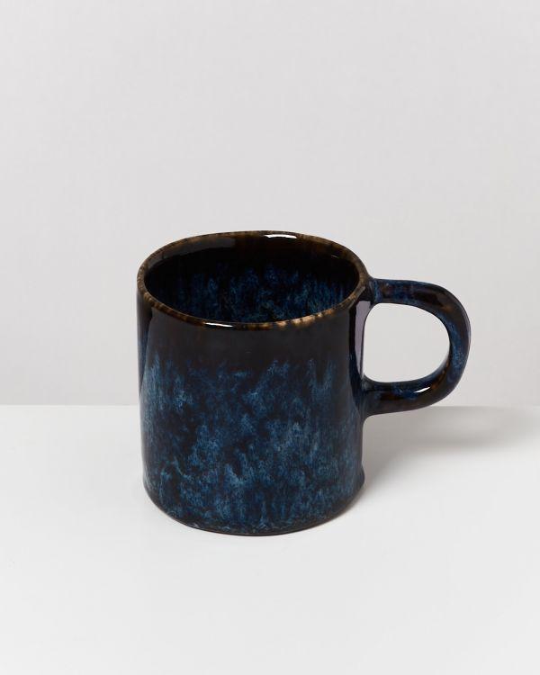 Cordoama 6er Set Tasse groß dunkelblau 2