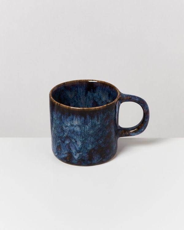 Cordoama 6er Set Tasse klein dunkelblau 2