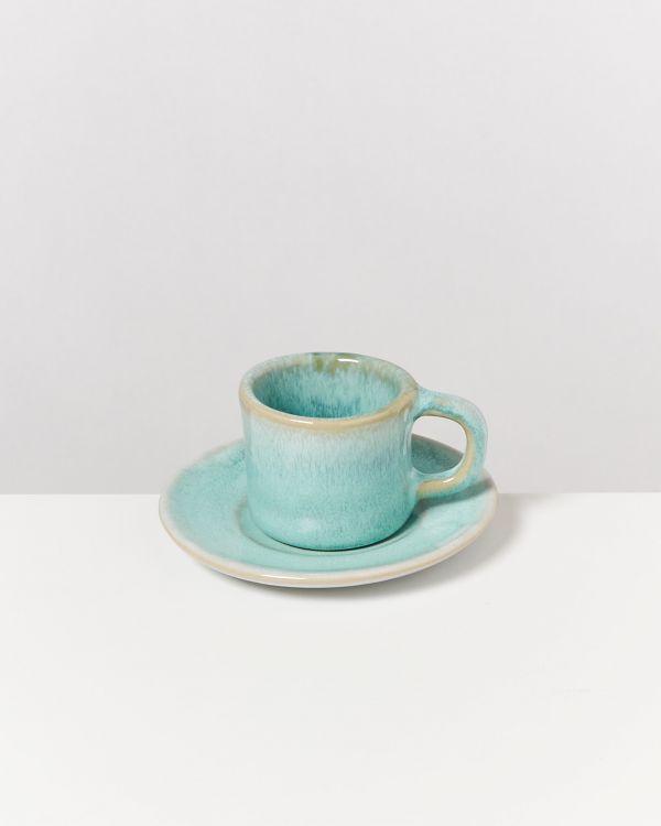 Cordoama 4er Set Espresso-Untertasse mint 2