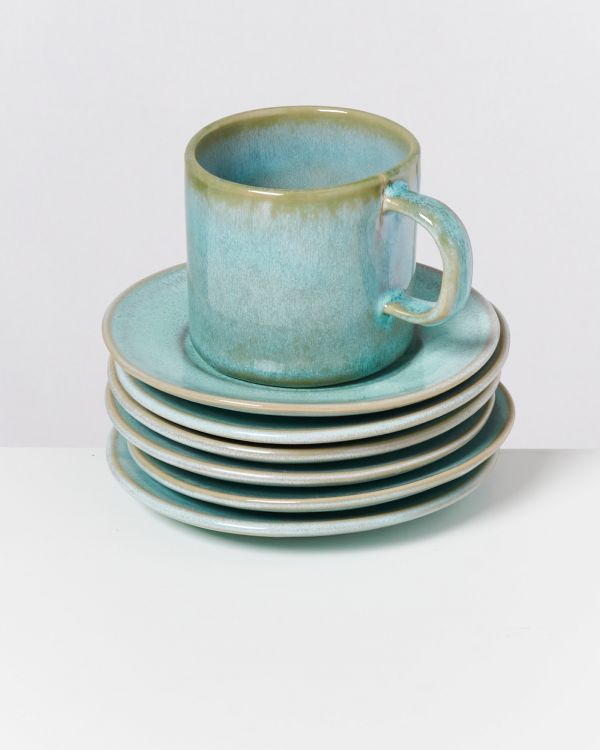 CORDOAMA - Set of 6 Saucers mint 2