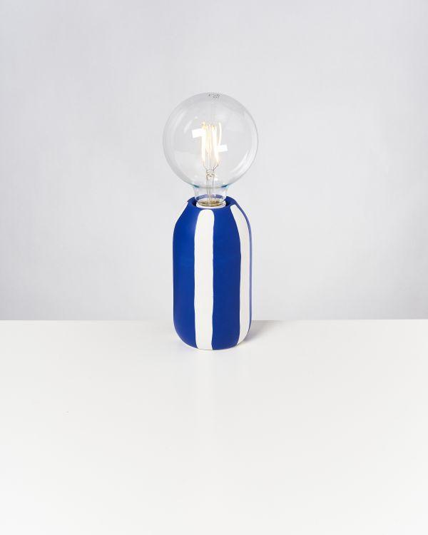 FAROL - Lamp blue striped 2