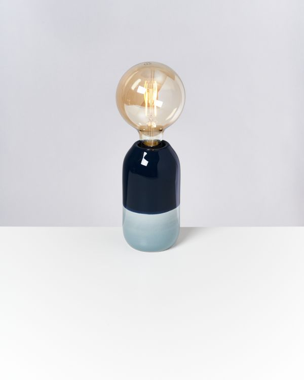 FAROL - Lamp navy lightblue 2