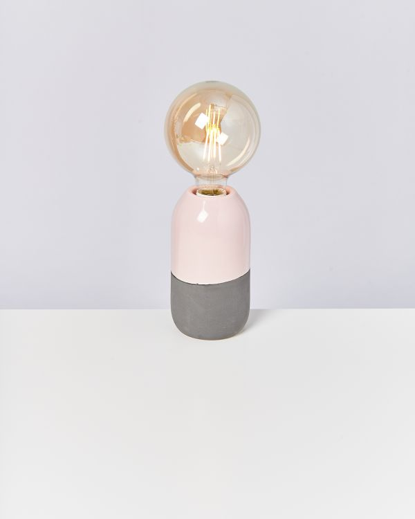 FAROL - Lamp rose grey 2