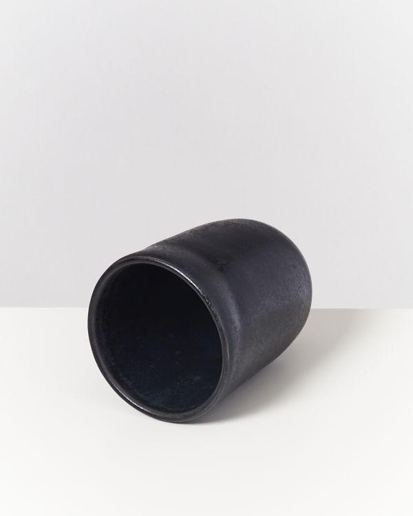 Macio Becher groß schwarz 2