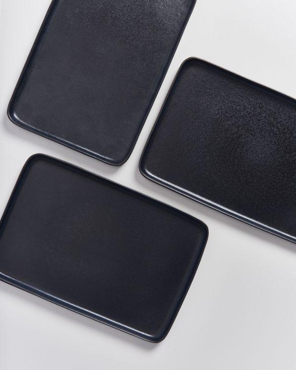 Macio Tablett schwarz 2