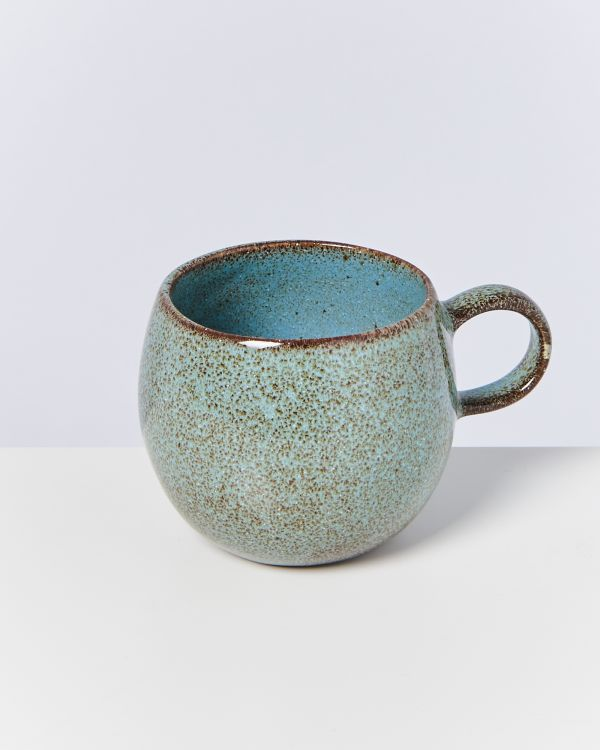 MAE - Set of 4 Cups big turquoise 2