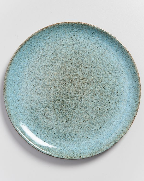 MAE - Plate large turquoise 2
