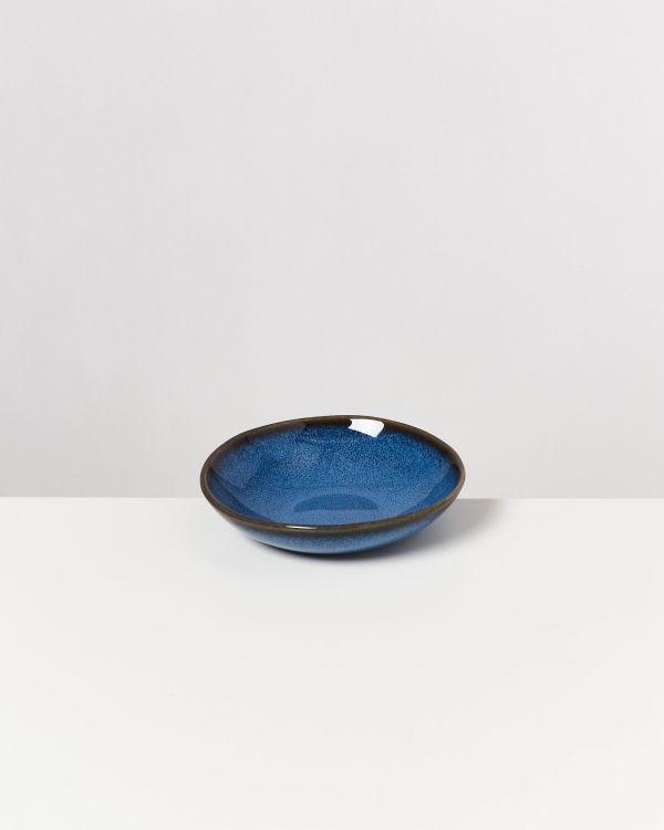 Melides - Mini Plate deep blue 2