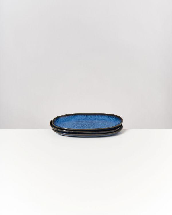 Melides - Serving Platter M blue 2