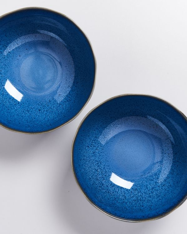 Melides - Servingbowl blue 2