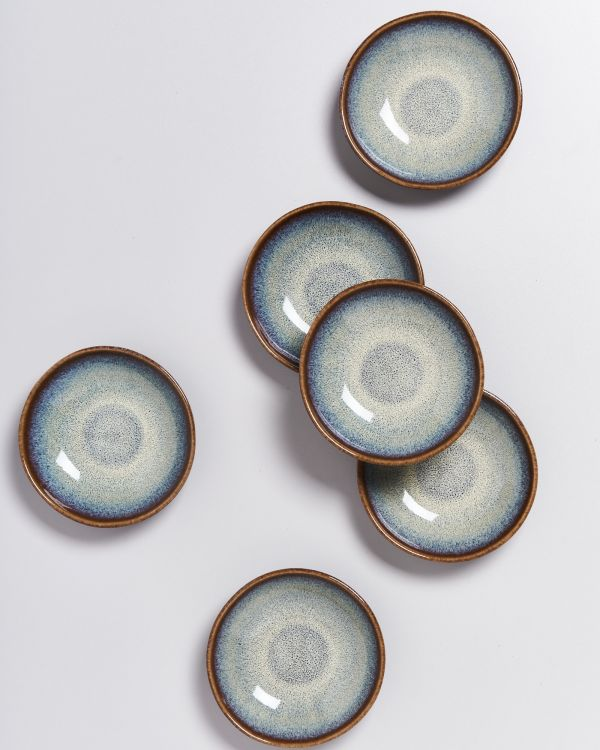 Melides - Mini Plate deep forest brown 2