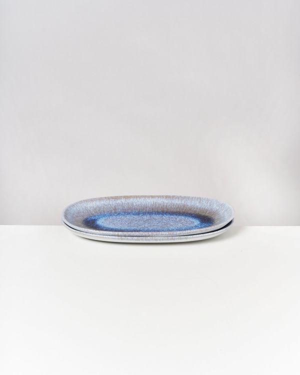 Melides - Serving Platter L stoneblue 2