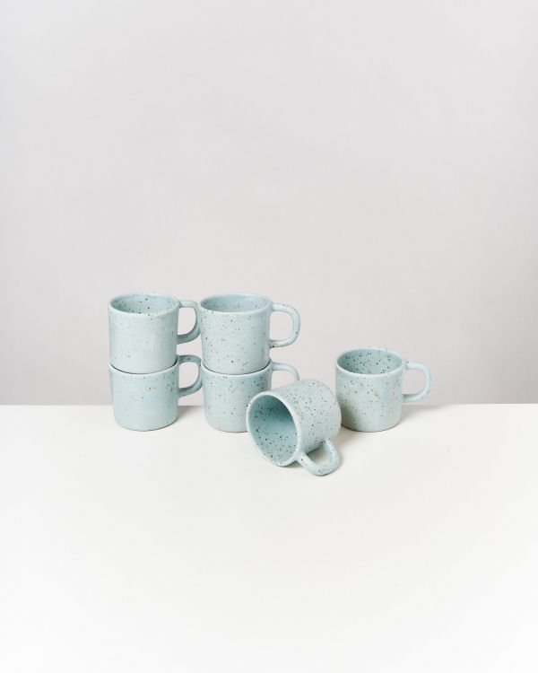 Tavira - Mug small mint dots 2