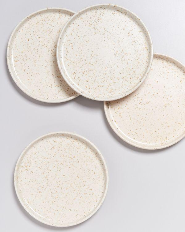 Tavira Teller klein sand dots 2