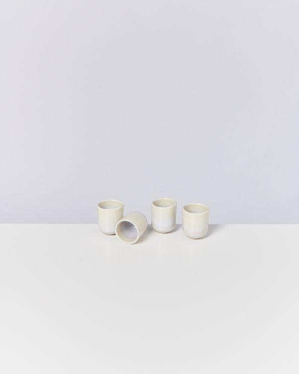 Alcachofra Espressobecher sand 2