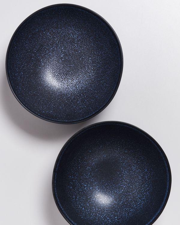 Turmalina - Servingbowl flat small black 2