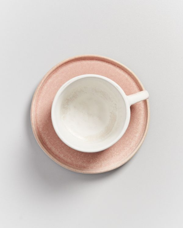 Zavial rose - Mug and saucer 2