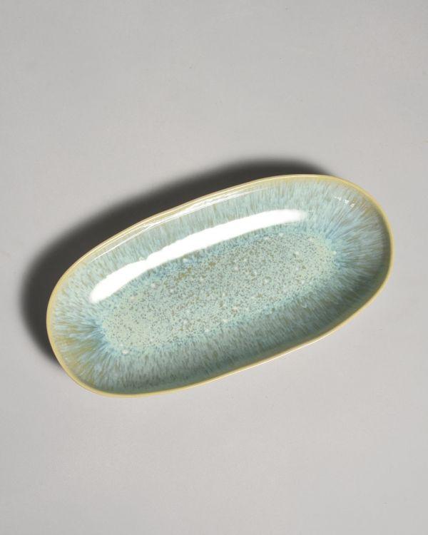 Areia Ovale Servierplatte L mint 2