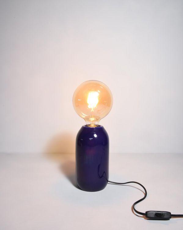 Farol Lampe dunkelblau 2