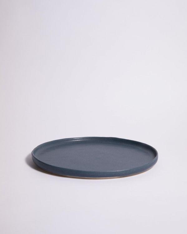 Macio - Teller gross blau-schwarz 2