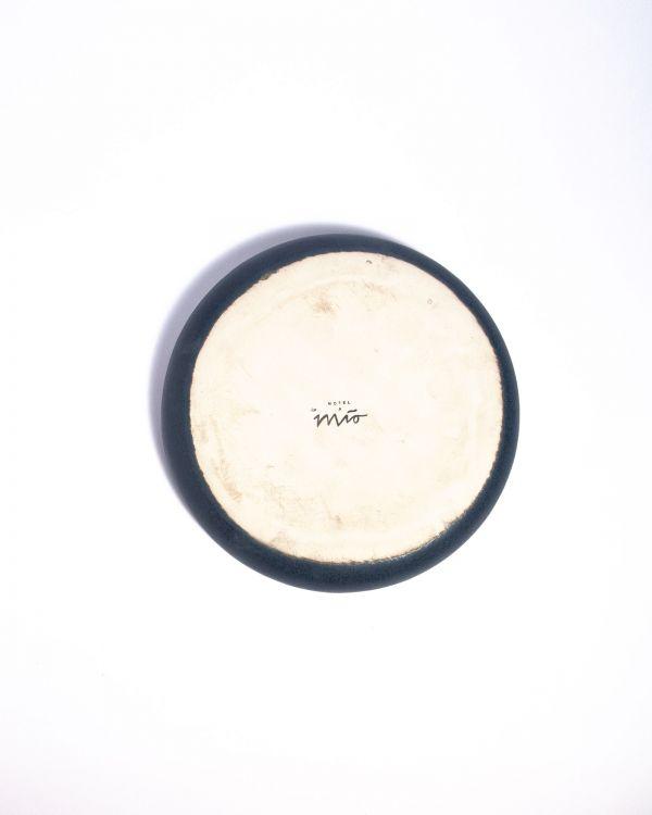 Macio - Teller klein blau-schwarz 2