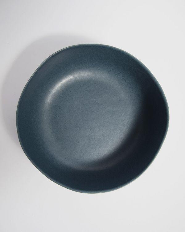 Macio Servierschale blau-schwarz 2
