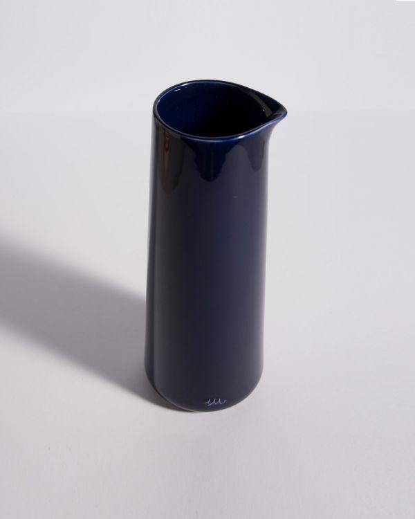 Pinguim Karaffe dunkelblau 2
