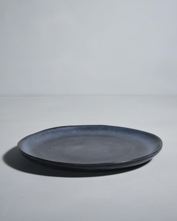 TURMALINA - Plate large black 2