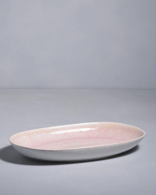 Alcachofra Servierplatte L peach 2