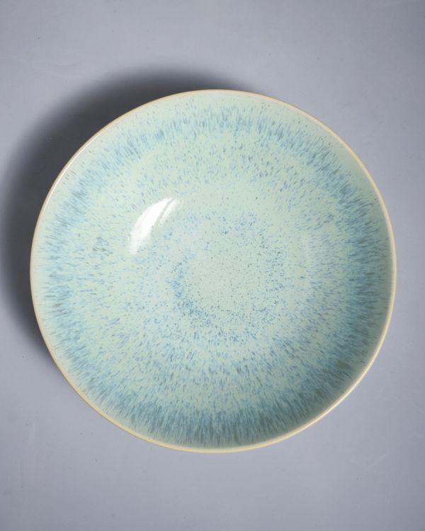 AREIA - Servingbowl big flat mint 2