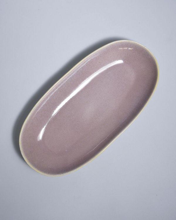 AREIA - Serving Platter L mauve 2