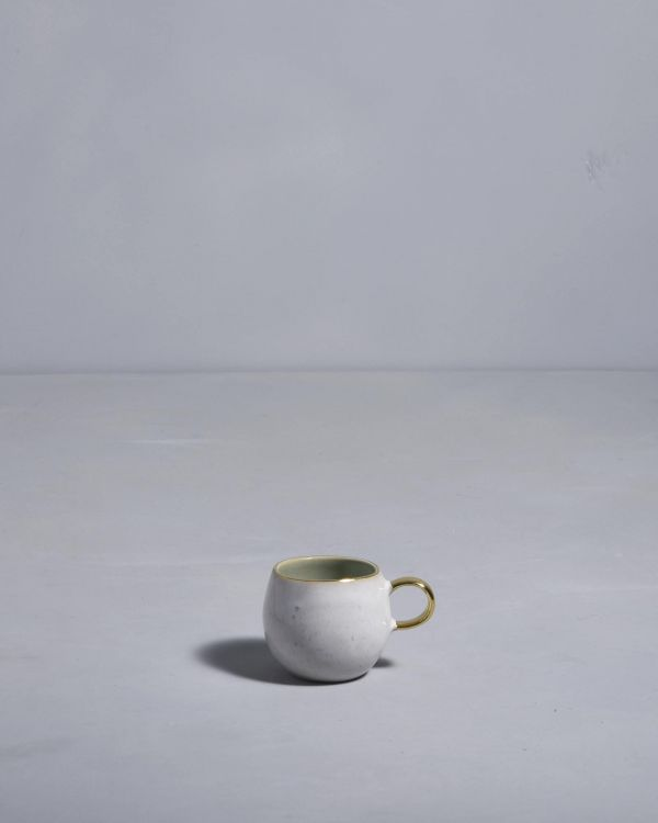 AREIA - Espressomug mint gold 2