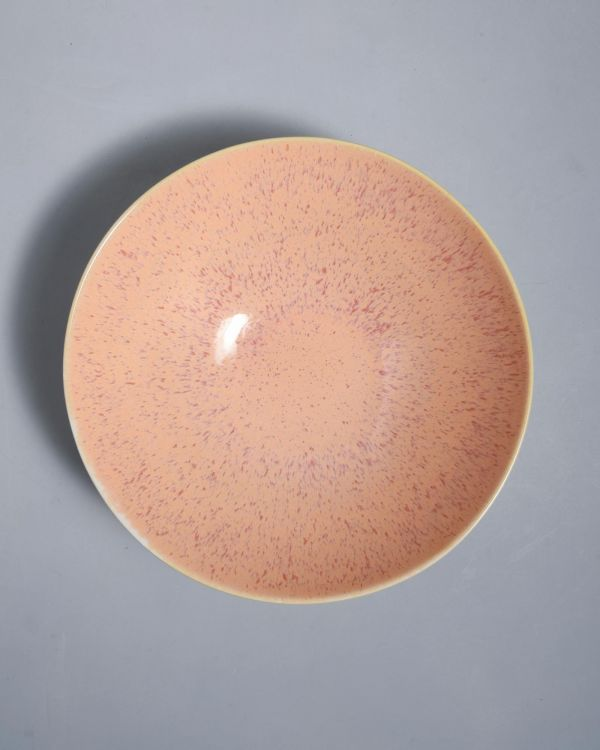AREIA - Servingbowl flat small pink 2