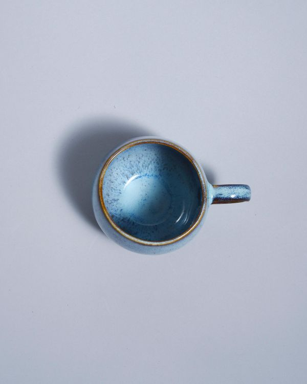 AREIA - Set of 4 Cups big teal 2